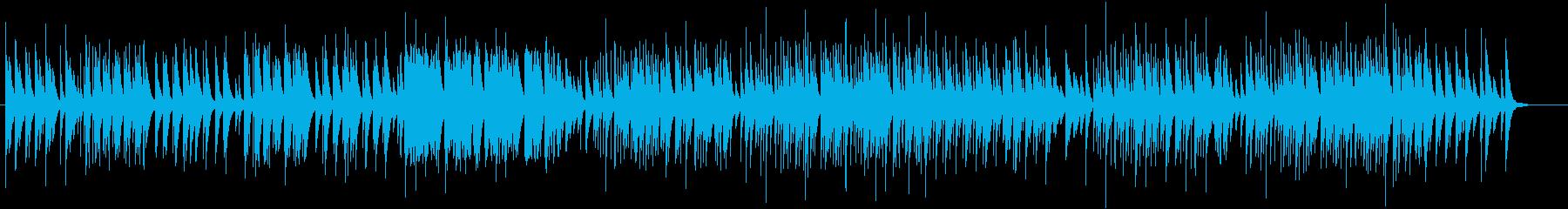 ホスピタリティなやさしいオルゴール74の再生済みの波形