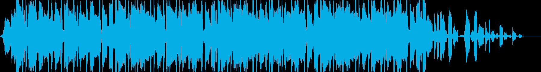 淡々としたクールなヒップホップの再生済みの波形