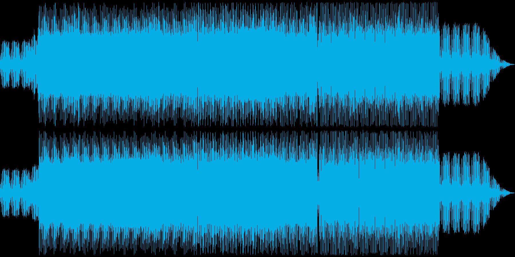 イントロサスペンス1分と反復的な奇...の再生済みの波形