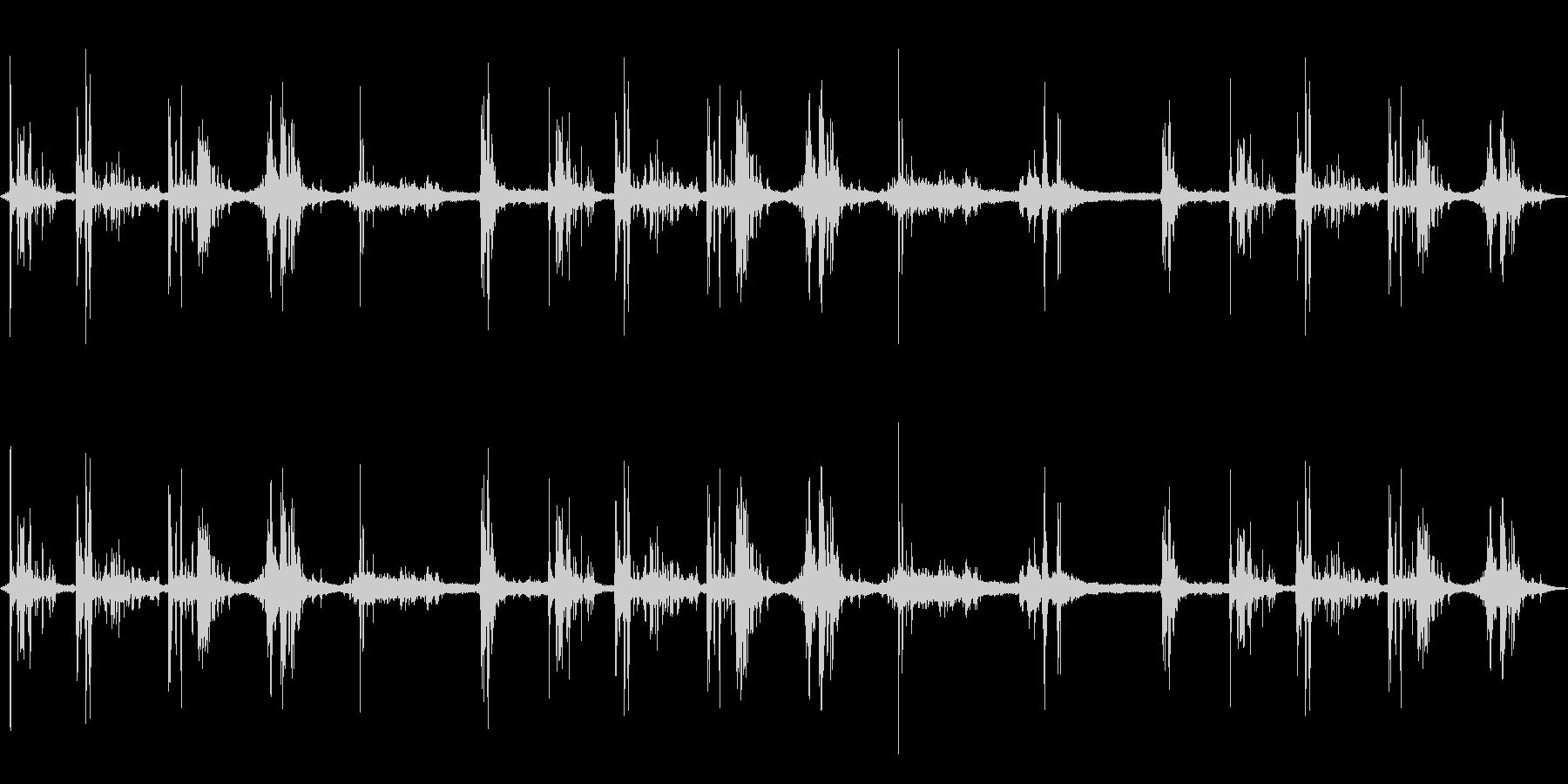 ゴロゴロゴロ…ドカンッ!…(雷の音)の未再生の波形