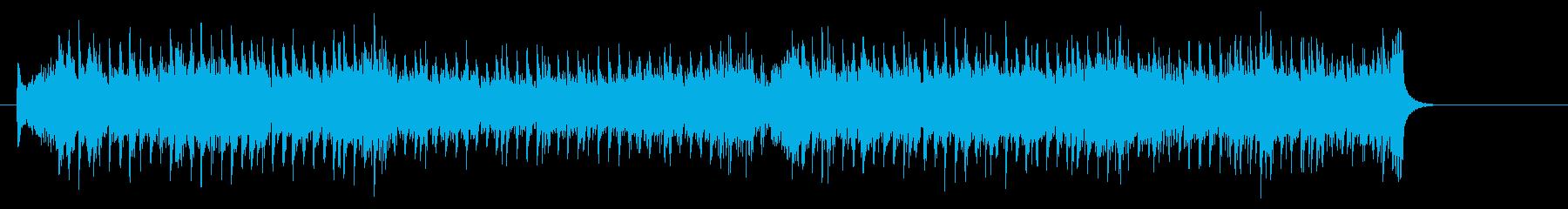 コンテンポラリーなポップスの再生済みの波形