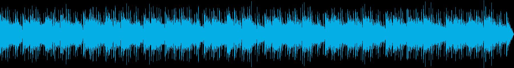 【主張しない背景音楽】穏やか1【ループ】の再生済みの波形