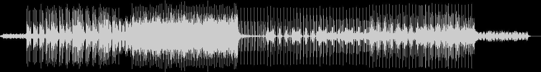 近未来的 オシャレでスタイリッシュの未再生の波形