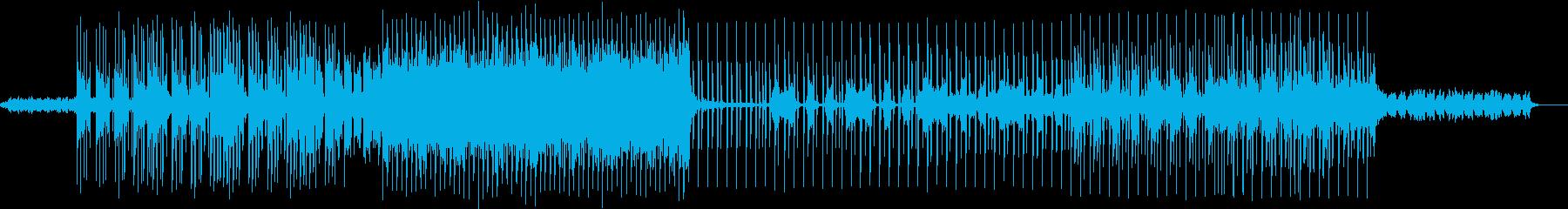 近未来的 オシャレでスタイリッシュの再生済みの波形