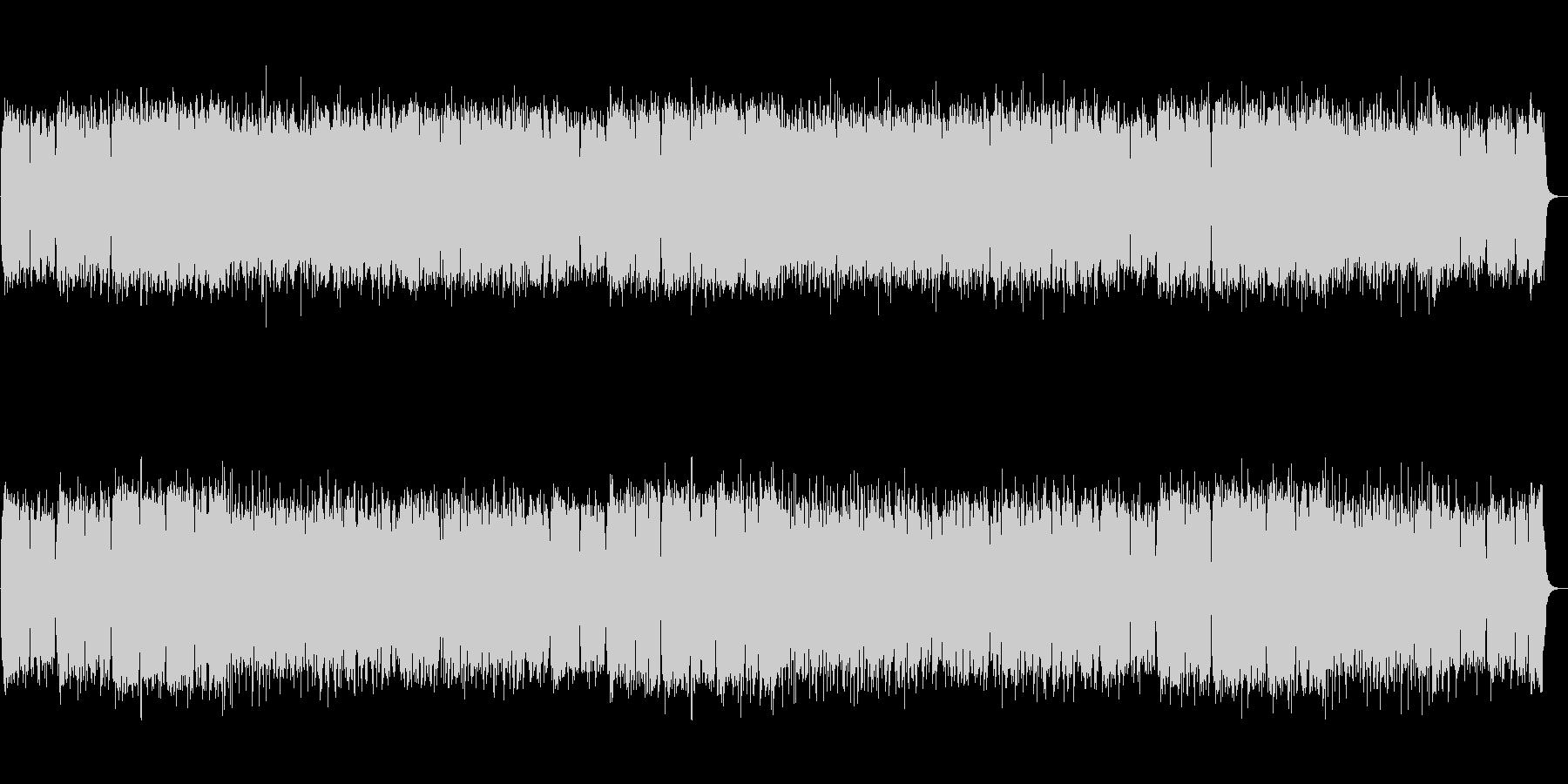 【生録音】和ロック・篠笛・疾走感の未再生の波形