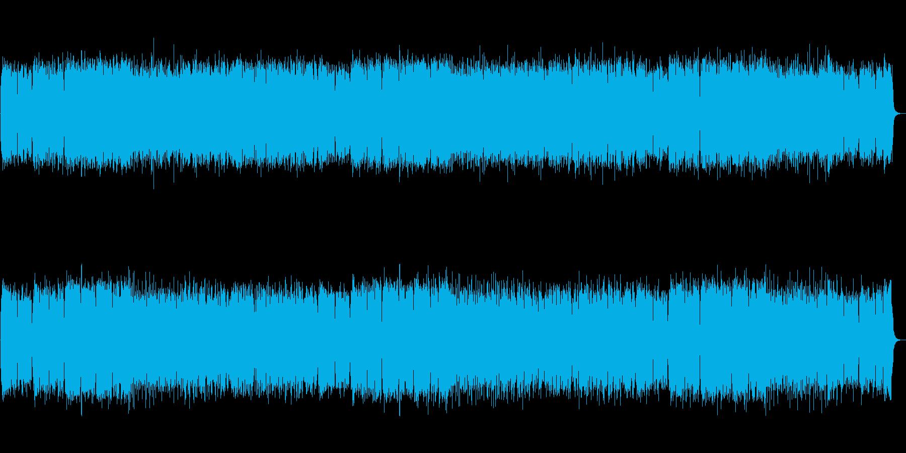 【生録音】和ロック・篠笛・疾走感の再生済みの波形
