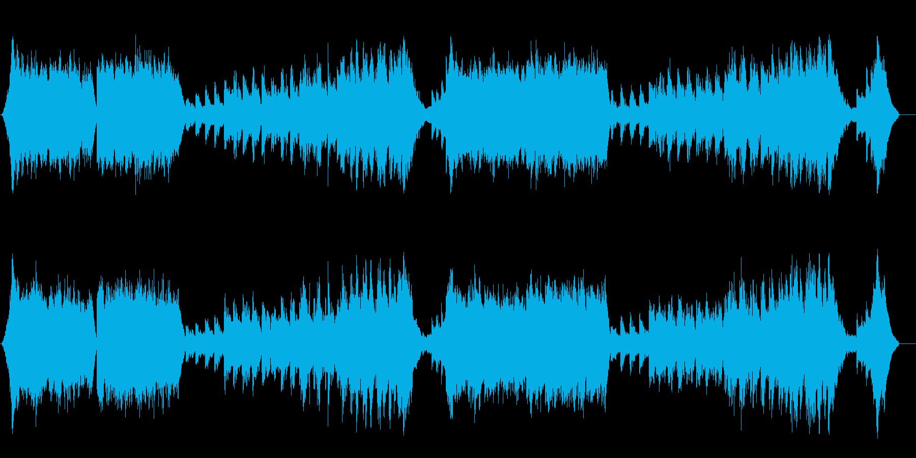 ナチュラルでスローなアンビ系フュージョンの再生済みの波形