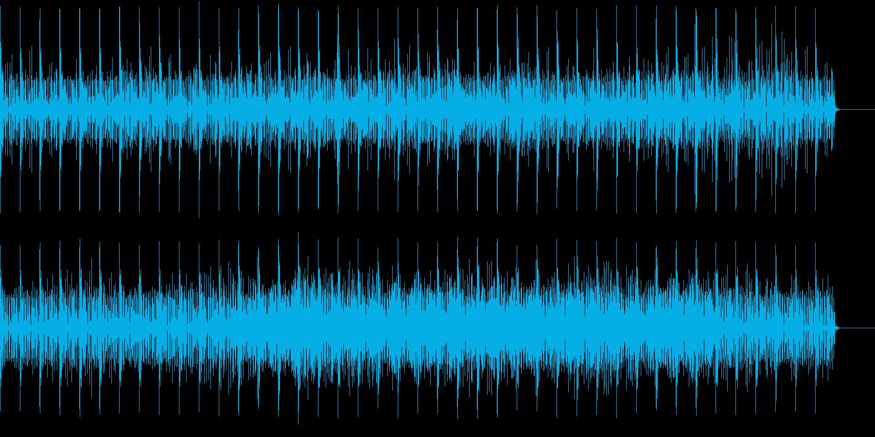 民族音楽テイストの曲です。の再生済みの波形