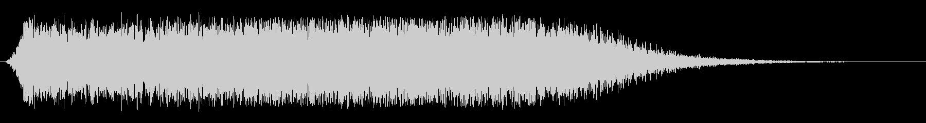 緊張 昇順カオスインパクト01の未再生の波形