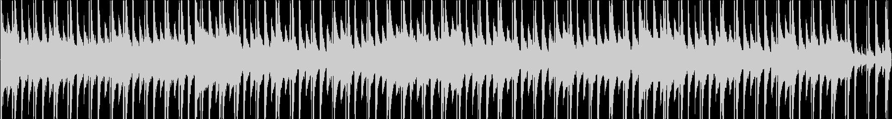 和のピアノとヒップホップのリズムが入っ…の未再生の波形
