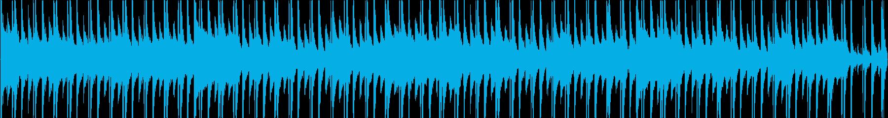 和のピアノとヒップホップのリズムが入っ…の再生済みの波形