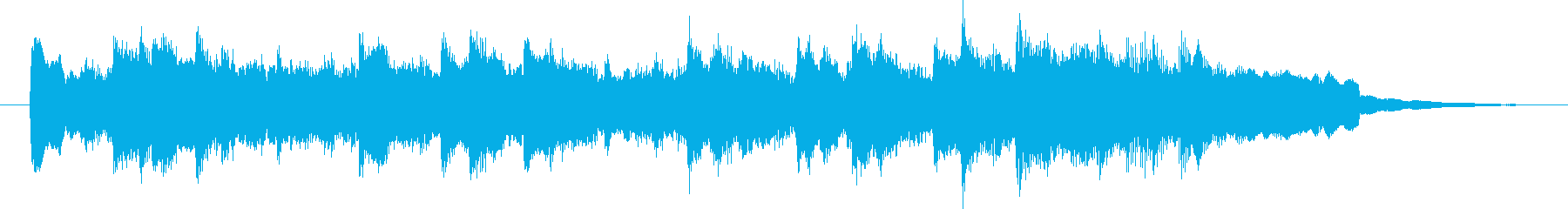 Stille Nacht(チャイム)の再生済みの波形