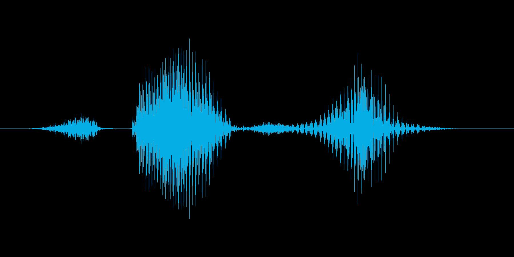 ステージ4(よん)の再生済みの波形
