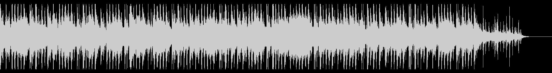 メロディアスでシンプルなジャズの未再生の波形