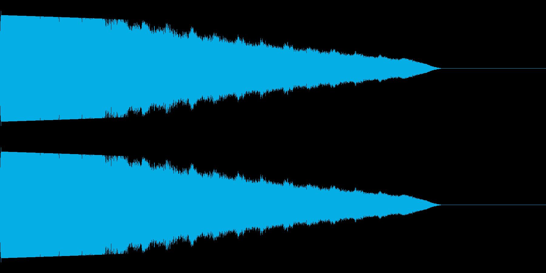 プシュー(ガス/ノイズ/爆発/科学物の再生済みの波形