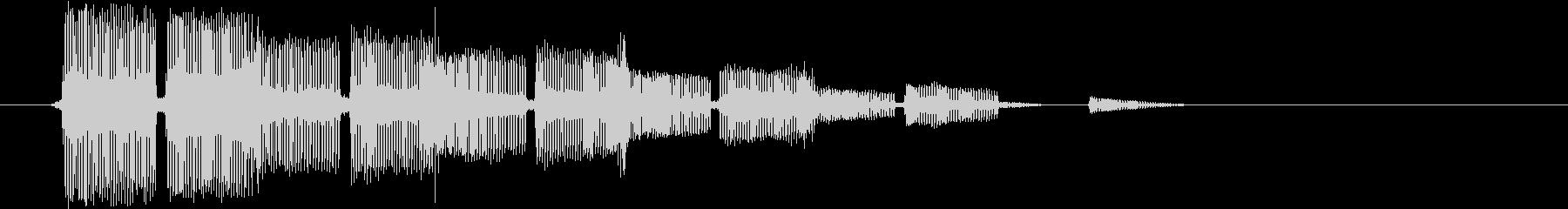 テロリロリローン(選択的)の未再生の波形