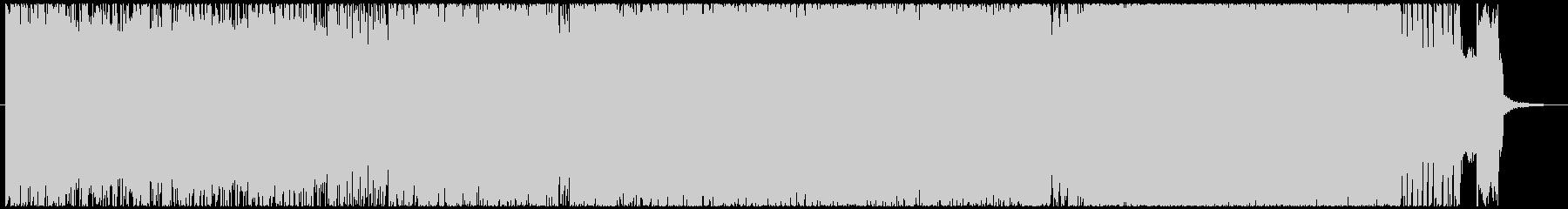 とにかくカッコ良いハードロックインストの未再生の波形