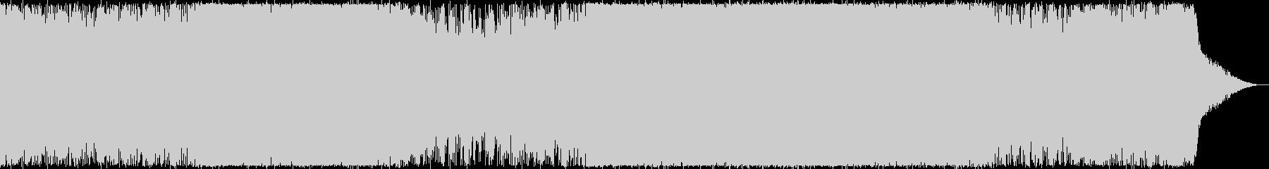 夏の若者向けCM・トロピカルハウスの未再生の波形