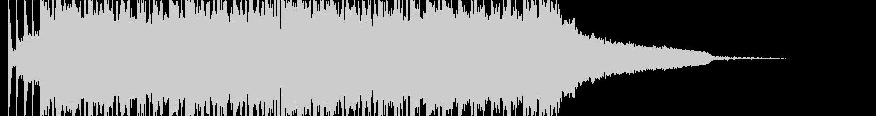 不思議なEDMジングル ゲーム音楽の未再生の波形