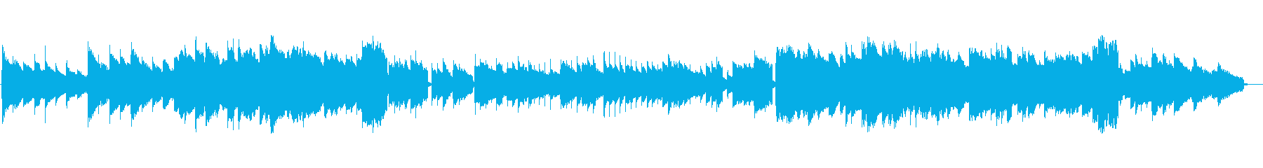 Moist electric piano to sleep 1's reproduced waveform