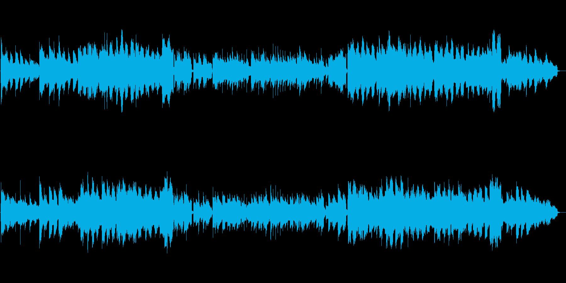 寝れるしっとりエレピ1の再生済みの波形