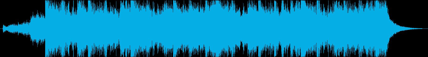 感動シネマティックエピックオーケストラeの再生済みの波形