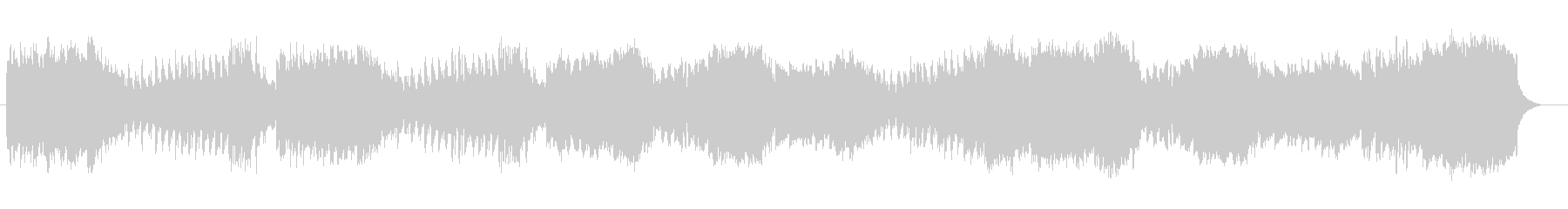 ストリングスによる秋のマーチの未再生の波形