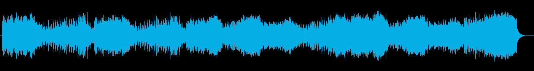 ストリングスによる秋のマーチの再生済みの波形