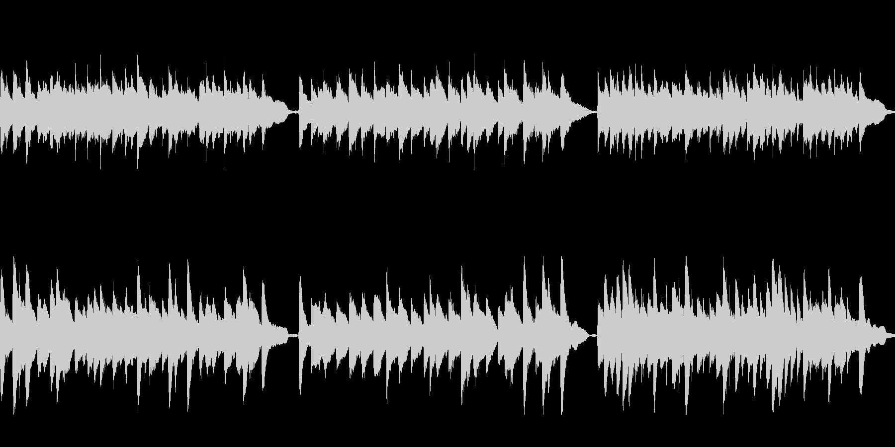 クラシック風ジングル37B-ピアノソロ の未再生の波形