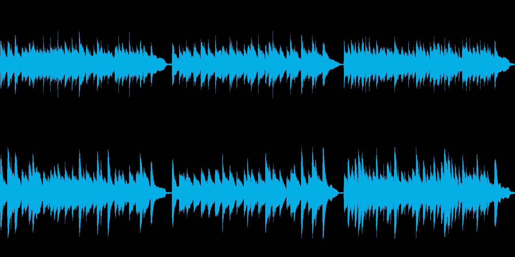 クラシック風ジングル37B-ピアノソロ の再生済みの波形