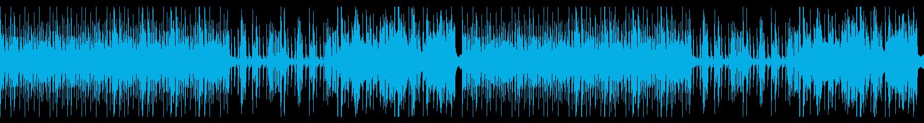 ジャズ風分析・解説・トラブルの再生済みの波形