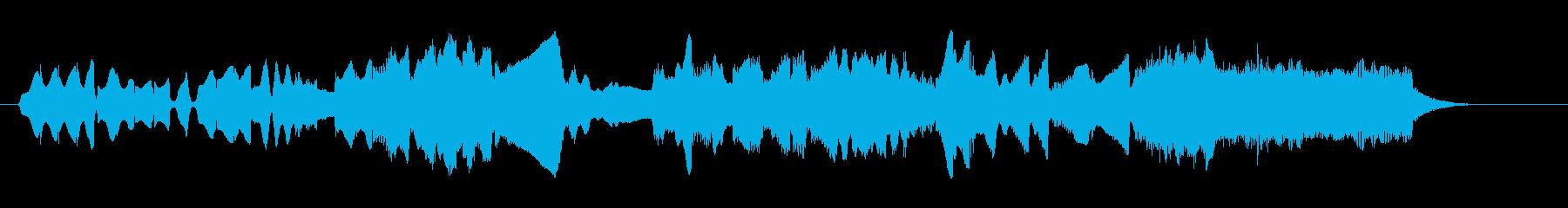 鍵盤ハーモニカとオルガンによる牧歌の再生済みの波形