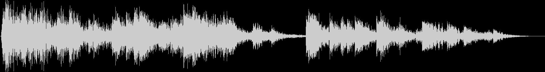 ミディアムメタルドラムのスタック:...の未再生の波形