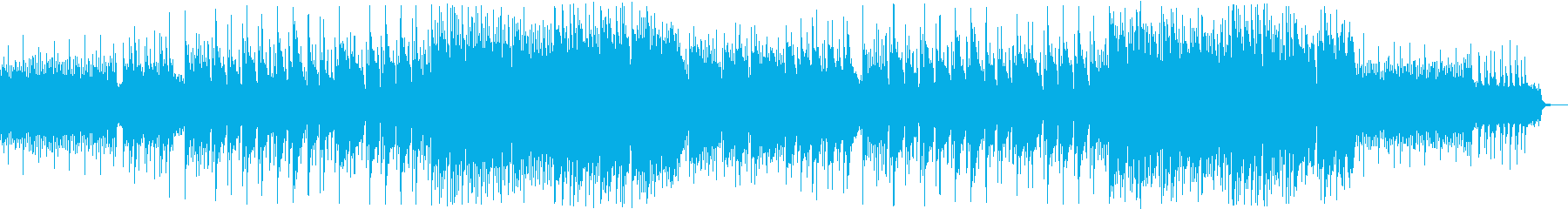 おもちゃのピアノ音の不思議な雰囲気の曲の再生済みの波形