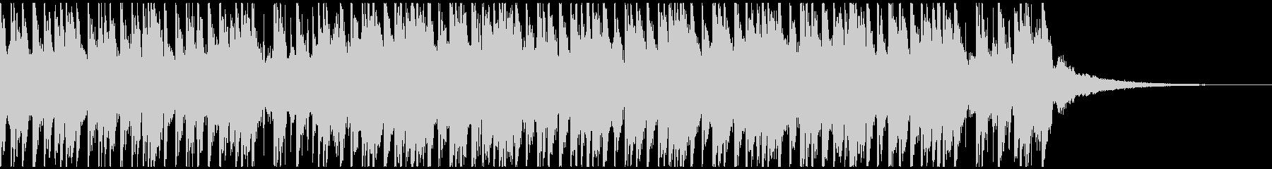 トロピカルハウスパーティー(30秒)の未再生の波形