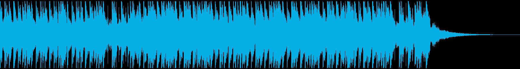 トロピカルハウスパーティー(30秒)の再生済みの波形