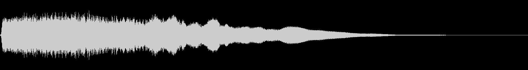 ロックバンパー4の未再生の波形