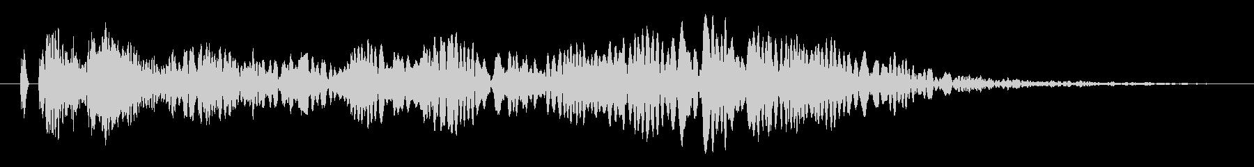 ヒュ〜!本当にリアルな花火の効果音!の未再生の波形