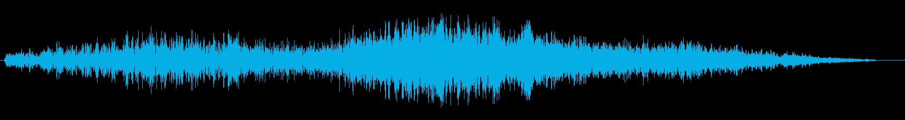 シュワワ(ジェット機)の再生済みの波形