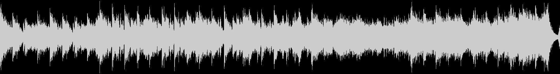 中華風の穏やかなBGM・ループの未再生の波形