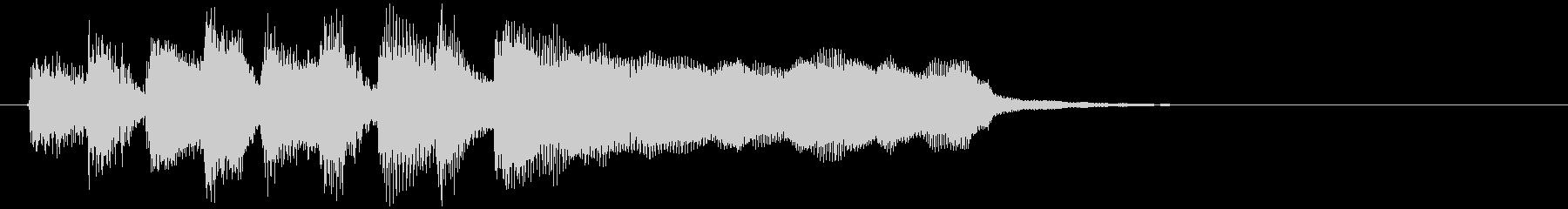 ステージクリアのジングル、ラッパ系の未再生の波形