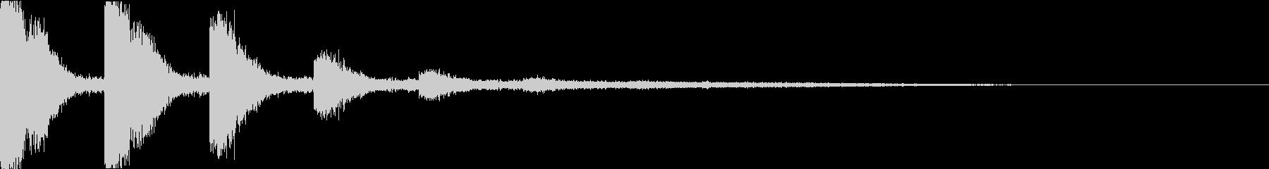 スネア:衝撃音・迫力・インパクトbの未再生の波形
