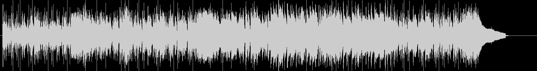 プログレ風のピアノ作品の未再生の波形
