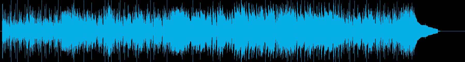 プログレ風のピアノ作品の再生済みの波形