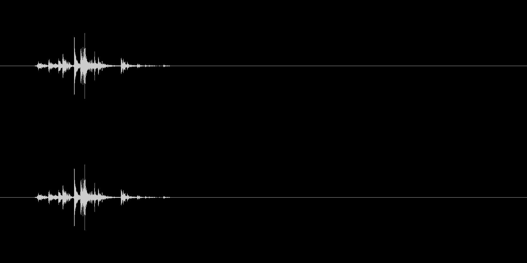 【筆箱03-1(開ける)】の未再生の波形