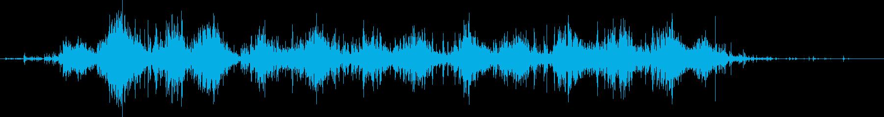 薬、錠剤をビンから出す効果音 03の再生済みの波形