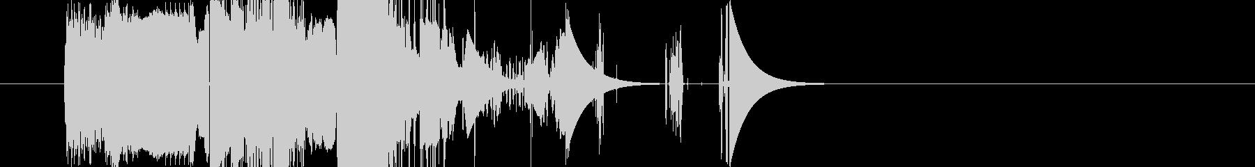 ブーストクラッカーバージョン3の未再生の波形