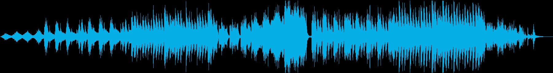 シンセ&ピアノ ゆったりヒーリング 星の再生済みの波形