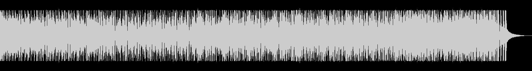 ジャズテイストのリズムに乗れるポップスの未再生の波形