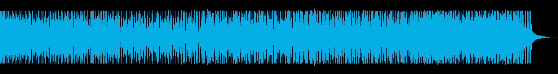ジャズテイストのリズムに乗れるポップスの再生済みの波形